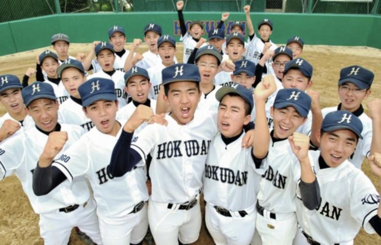 岡田大成は北淡中学で全国ベスト8