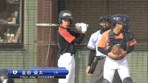 浦和学院・金田優太は攻守で注目の中学日本代表